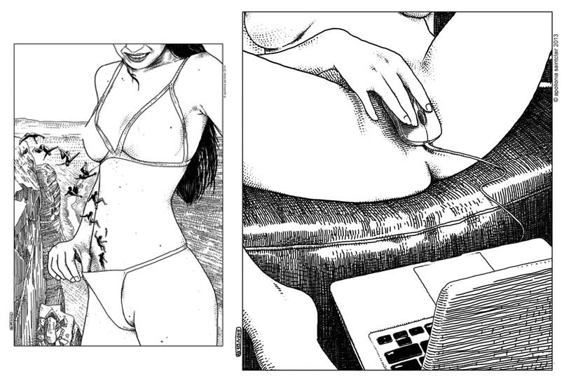 disegni erotici apollonia saintclair